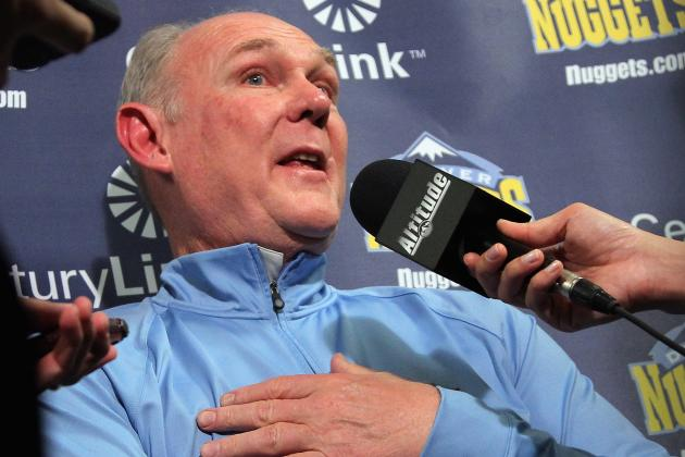 Andrew Bynum vs. George Karl: Will Karl's Crying Help the Nuggets?