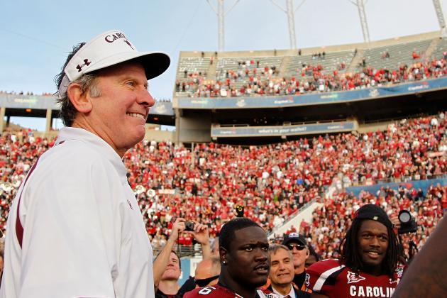 BCS Meetings: Steve Spurrier, Even While Joking, Speaks a Playoff Truth