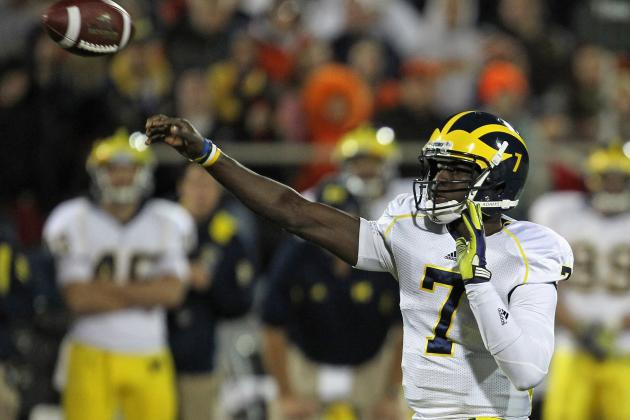 Big Ten Football Top 150 Players: No. 131, Devin Gardner, Michigan 'Quarterback'