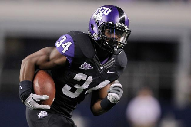 College Football 2012 Top 150 Players: No. 129 Ed Wesley TCU RB