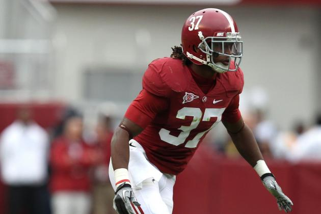 Alabama Football: Top Talents Sure To Land in Round 1 of 2013 NFL Draft