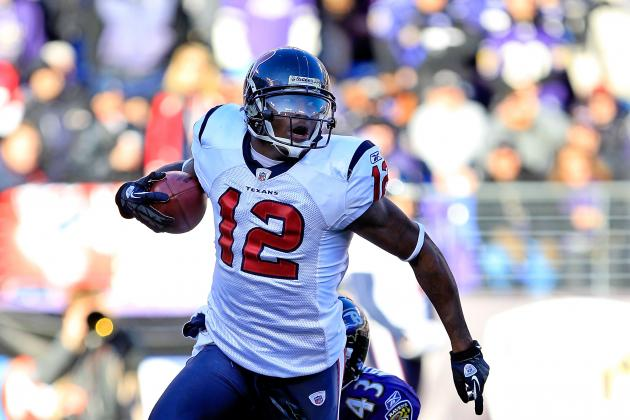2012 NFL Offseason: Jacoby Jones Reportedly Released by Houston Texans