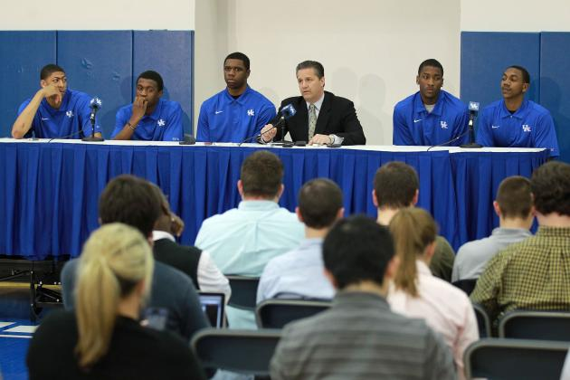 NBA Draft 2012: Don't Cry for Kentucky's Phenom Freshmen Who Left Early