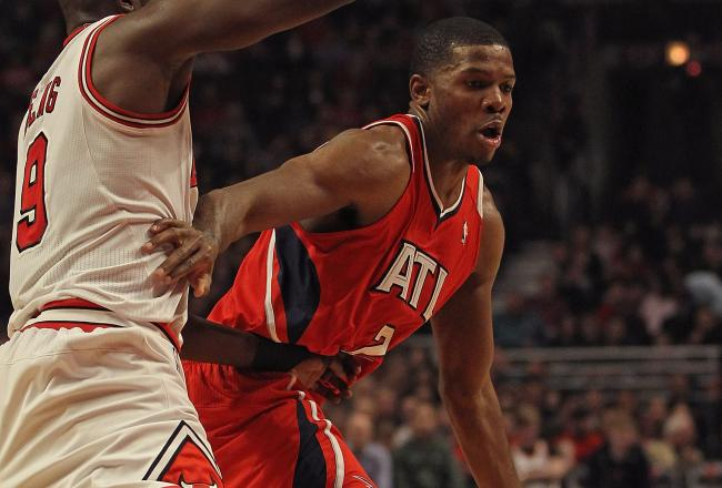 Joe Johnson has five second half points already.