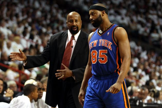 New York Knicks' Pathetic Performance Isn't Mike Woodson's Fault