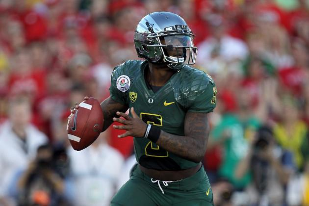 Oregon Football: Despite Not Being Drafted, Darron Thomas Made the Right Choice