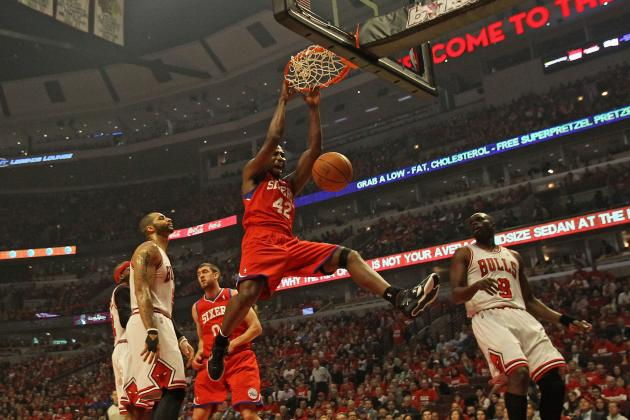 NBA Playoffs 2012: Behind Evan Turner, Sixers Down Rose-Less Bulls