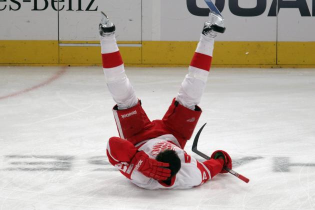 Detroit Red Wings: Most Disappointing Players from the Playoffs