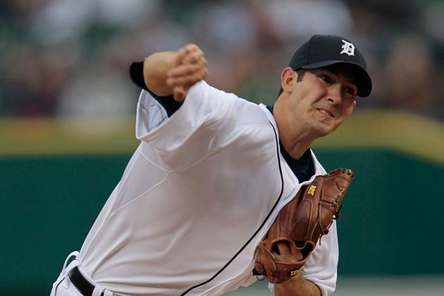 Rick Porcello Back on Track, Detroit Tigers Snap Skid in 9-3 Win over Royals
