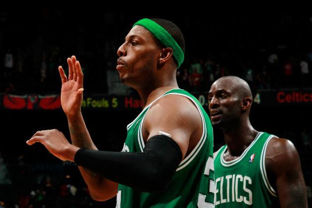 2012 NBA Playoffs: Pierce, Garnett and Bradley Lead Celtics Past Hawks