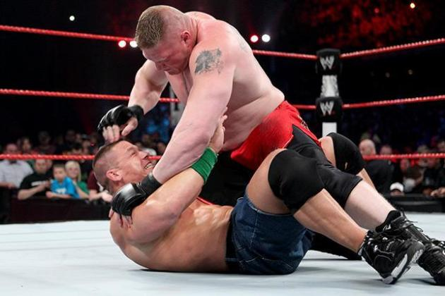 Brock Lesnar vs. John Cena: Did Extreme Rules Match Happen as It Should Have?