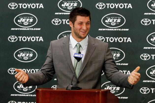 New York Jets Should Commit to Tim Tebow Now or Risk Dividing Locker Room