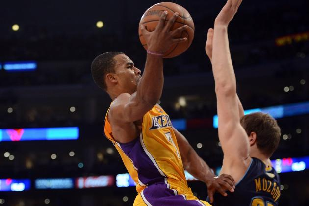 Lakers vs. Nuggets: Ramon Sessions Pulls a Derek Fisher in Clutch Game 2