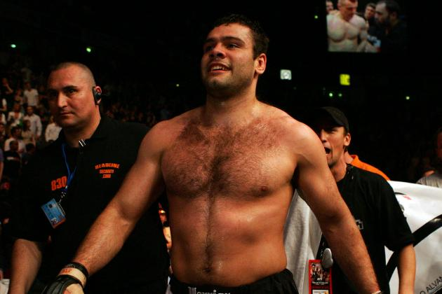 2 Fighters off UFC 146 Card, Including Gabriel Gonzaga