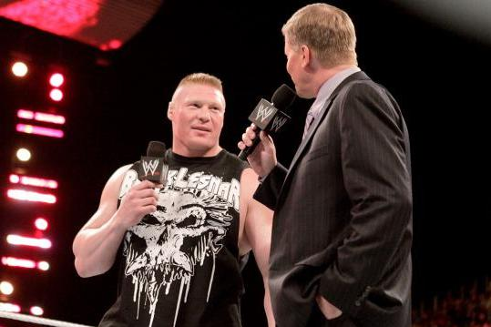 Brock Lesnar and John Laurinaitis Make WWE RAW a Better Show