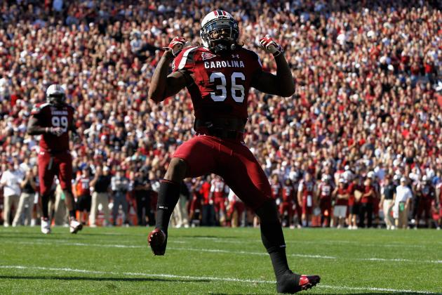 College Football 2012 Top 150 Players: No. 128 DJ Swearinger South Carolina, S