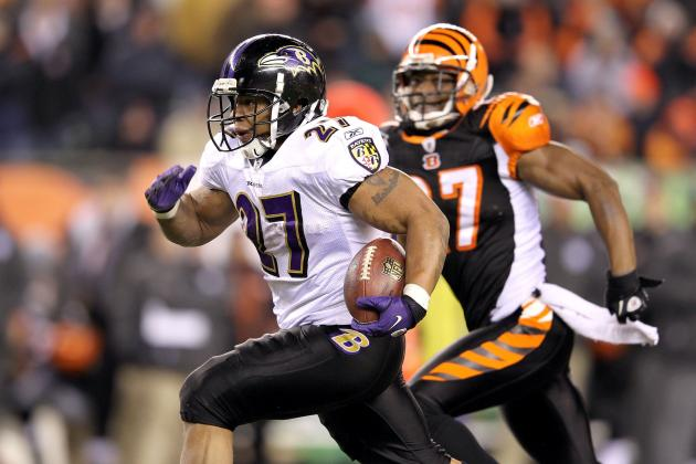 Fantasy Football Rankings 2012: Ray Rice and the Top Running Backs