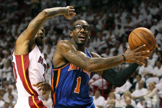 Amar'e Stoudemire's Punch Will KO His New York Knicks Career