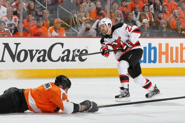 2012 Stanley Cup Playoffs: David Clarkson Comes Through for Devils