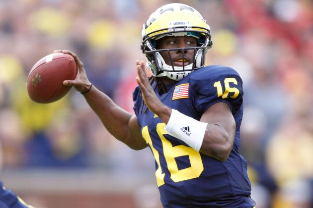 Michigan Football: Denard Robinson Could Learn a Lot from RGIII