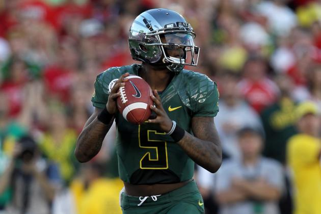 Darron Thomas: The Fate of the Former Oregon Ducks QB After the 2012 NFL Draft
