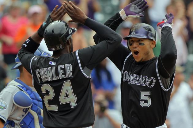 Jason Giambi's 3-Run 9th Inning Blast Lifts Rockies Past Dodgers