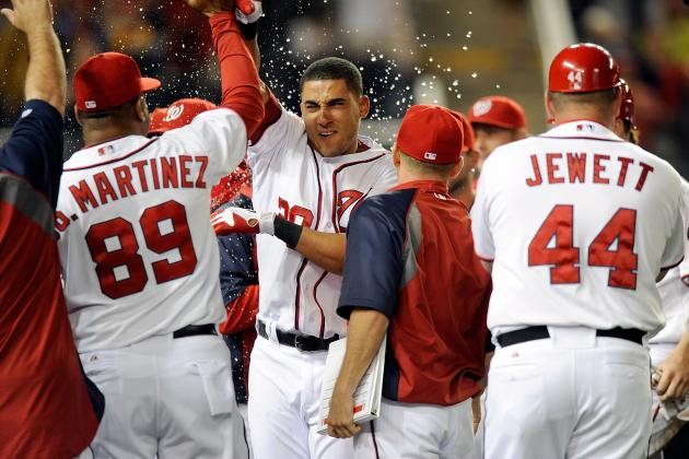 Washington Nationals Snap 5-Game Losing Streak on Ian Desmond's Walk-off Homer