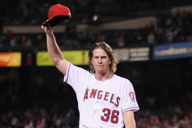 L.A. Angels' Jered Weaver Throws No-Hitter vs. Minnesota Twins