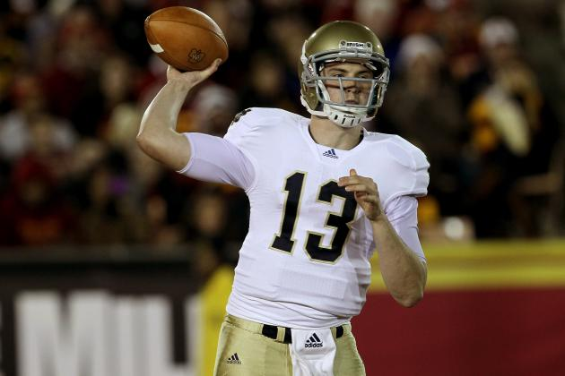 Notre Dame Football: Why Tommy Rees Must Start at QB in 2012