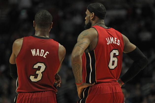 Does LeBron James' Season Prove Dwyane Wade Is on the Decline?