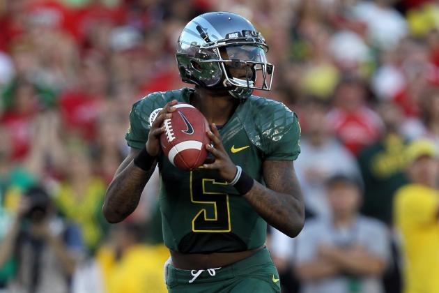 Steelers, Browns, Cardinals to Give Tryout to Undrafted Oregon QB Darron Thomas
