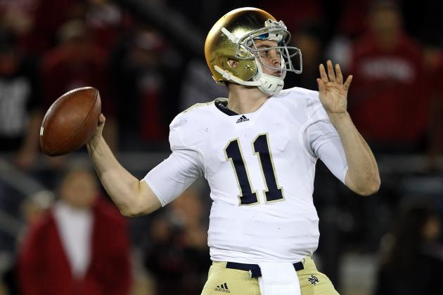 Notre Dame Football: Tommy Rees Arrest Likely Makes QB Race a Two-Man Affair