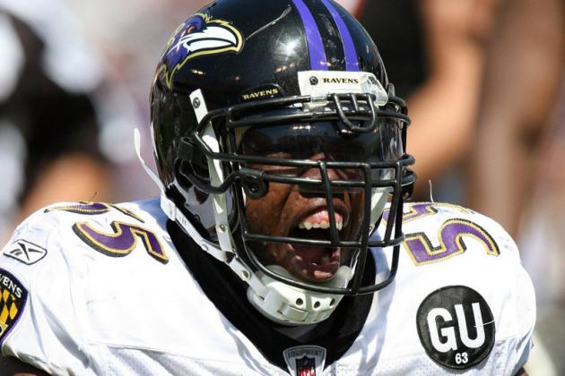 Terrell Suggs: Baltimore Ravens LB Tears Achilles, Could Be Out for 2012 Season