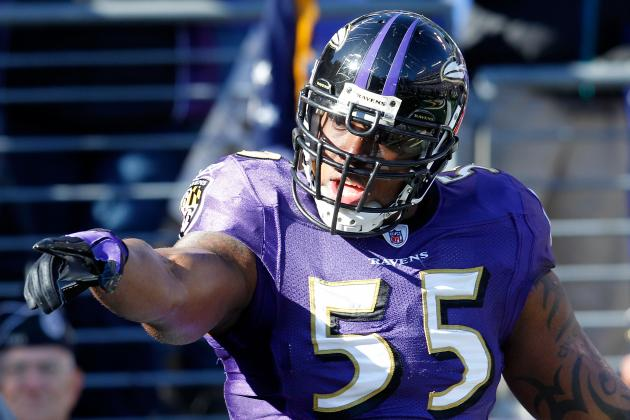 Terrell Suggs Injury: Baltimore Ravens Are Still 7-Point Favorites in Week 1