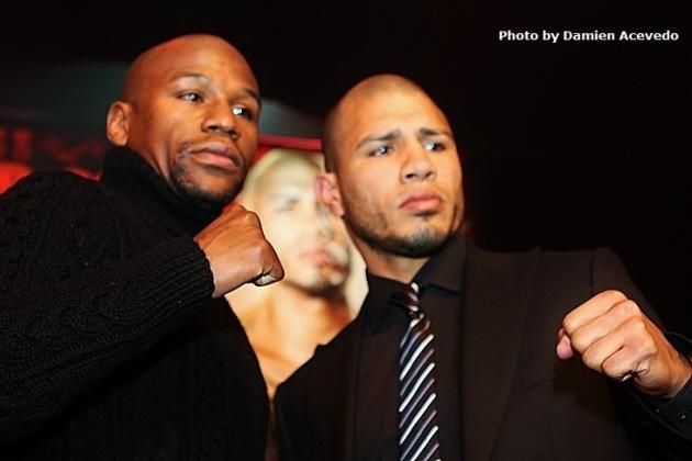 Floyd Mayweather and Miguel Cotto Will Let Their Fists Do the Talking