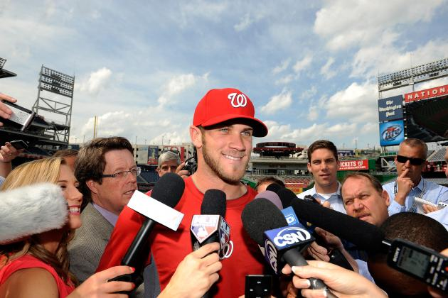 Bryce Harper Rewarded for Hot Start, Hitting 3rd in Washington Nationals Lineup