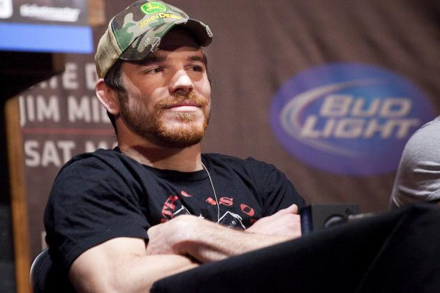 UFC on FOX 3: Nate Diaz Can Talk, but Jim Miller Will Punch Him in the Face