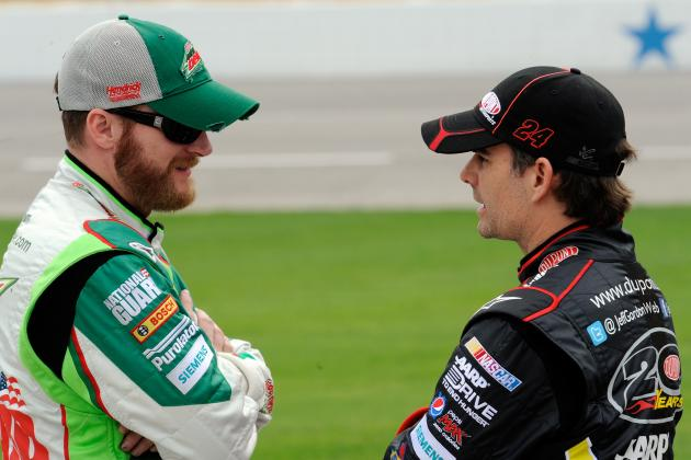Dale Earnhardt Jr. or Jeff Gordon: Who Should Get Hendrick's 200th Win at 'Dega?