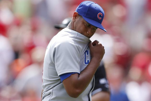 Carlos Marmol Collapses, Chicago Cubs Lose in Extra Innings 4-3 to the Reds