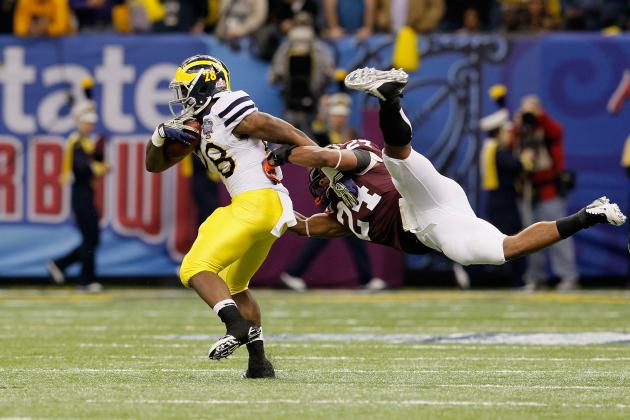 Michigan Wolverines Football: Why Fitzgerald Toussaint Will Dominate in 2012