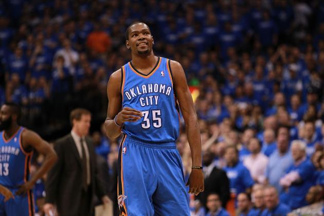NBA Crush of the Week: Oklahoma City Thunder Forward Kevin Durant