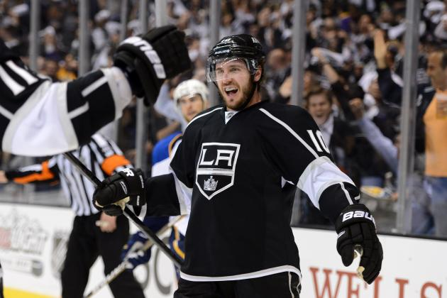 Kings Put Blues on Brink of Elimination After 4-2 Victory in Game 3
