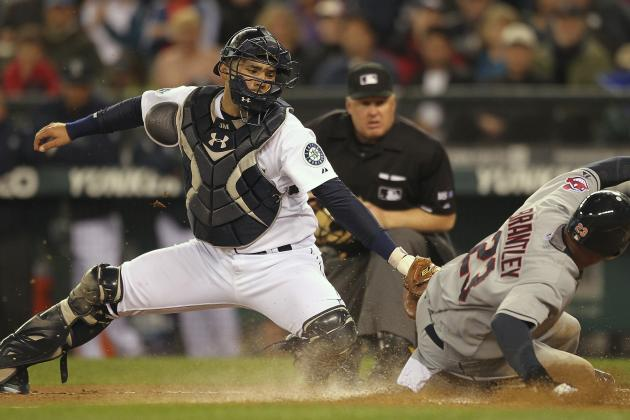 Seattle Mariners: With Olivo on DL, It's Jesus Montero's Time to Shine