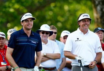 Phil Mickelson is grouped with Keegan Bradley and Bill Haas for the first two rounds