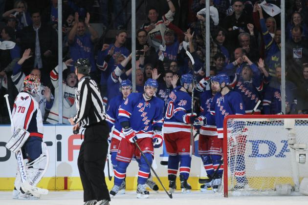 NHL Playoffs 2012: New York Rangers Testing Holtby Better Than the Bruins