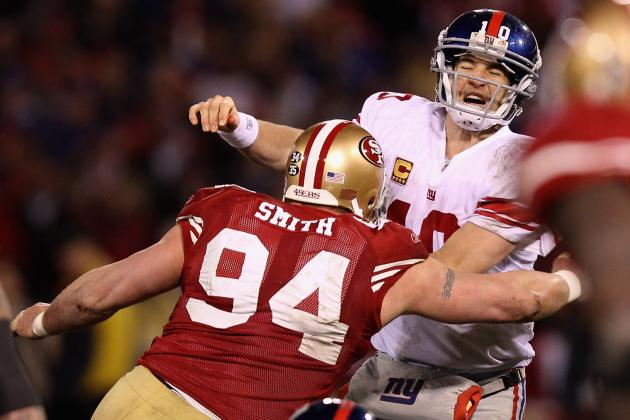 2012 NFL Season: Why Justin Smith of the San Francisco 49ers Will Win DPOY