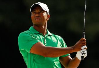 Tiger needs to find some birdies quick if he wants to play on the weekend.