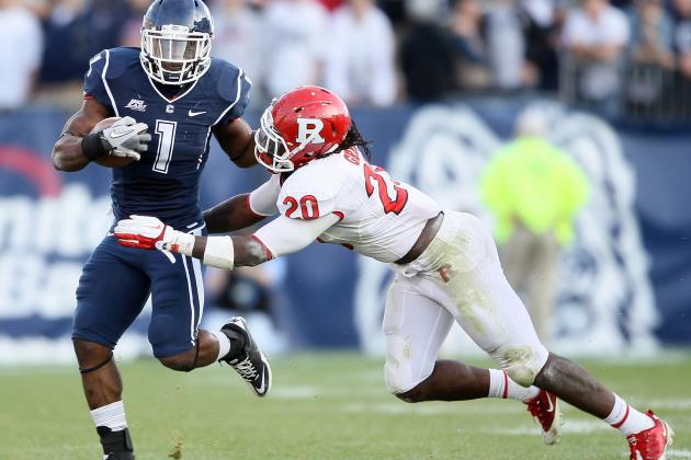 College Football 2012 Top 150 Players: No. 126 Khaseem Greene, Rutgers LB