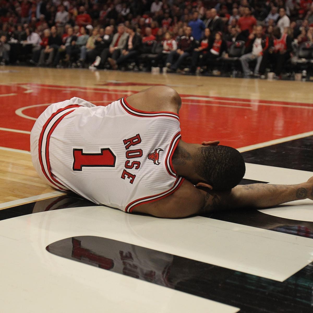 Nuggets Injury Report: NBA Playoffs 2012: Derrick Rose Injury Makes Celtics Team