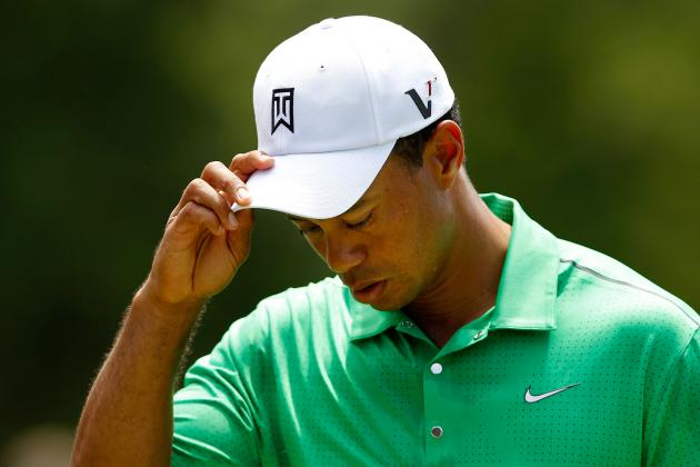 Tiger Woods Shoots Even Par and Misses the Cut at the Wells Fargo